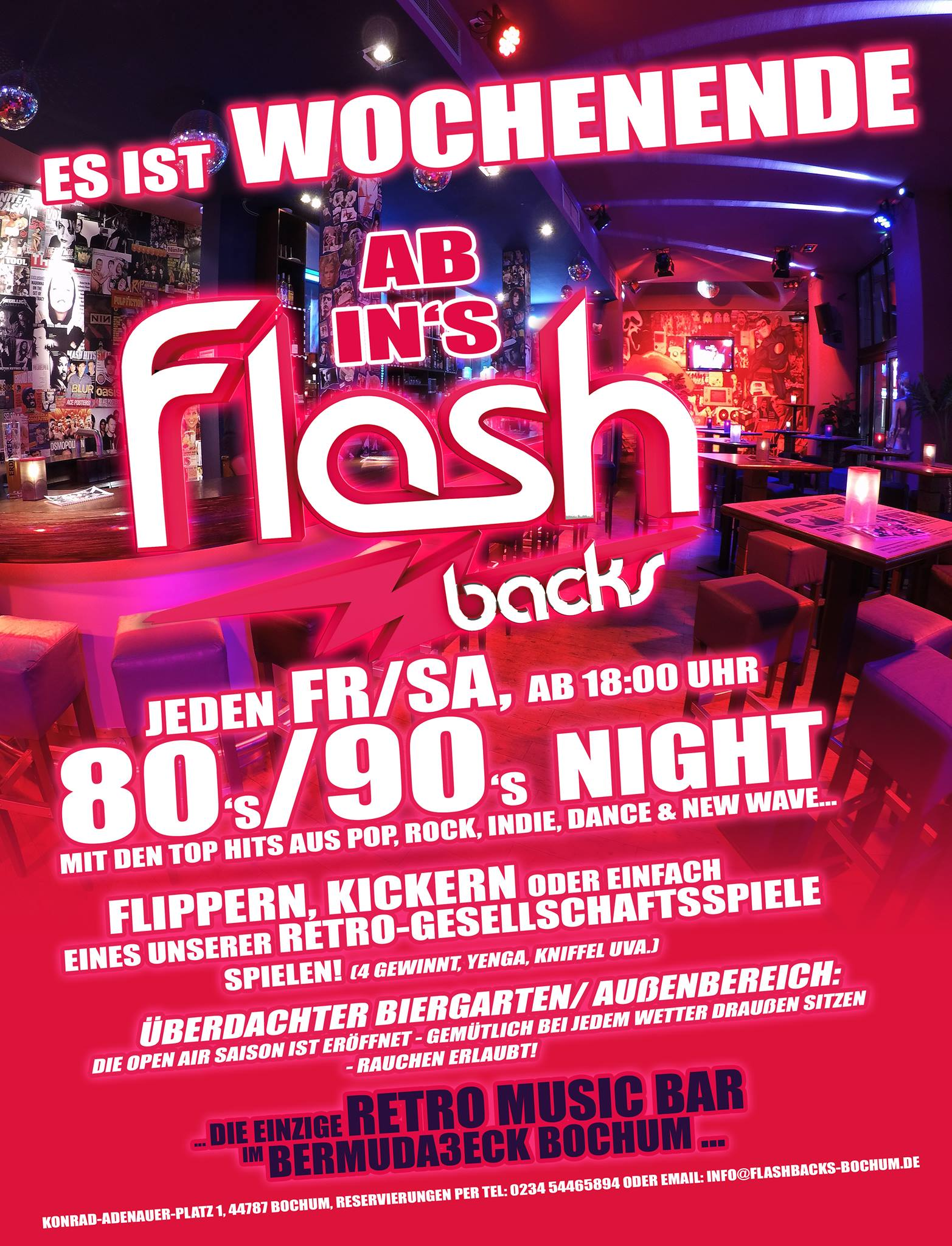 80er 90er night 80er party flashbacks bochum